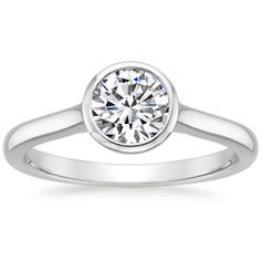 Top Twenty Engagement Rings - LUNA RING from Brilliant Earth // No.