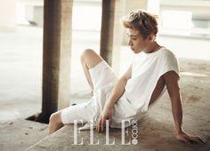 Super Junior's Henry // Elle Korea // July 2013