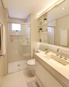 Bathroom Design Layout, Bathroom Design Luxury, Bathroom Design Small, Modern Bathroom, Small Apartment Bedrooms, Small Apartments, Small Toilet Design, Small Bathroom Colors, Restroom Design