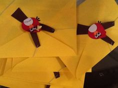 Envelope do convite.