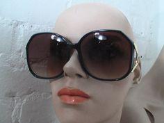 sunglasses smoke lenses womens 80s 1980s