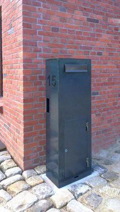 briefkastenanlage klingel hinterleuchtete hausnummer und tor aus edelstahl gates tore. Black Bedroom Furniture Sets. Home Design Ideas