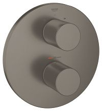 Grohtherm 3000 Cosmopolitan Thermostat with integrated 2-way diverter  for bath or shower with more than one outlet 19468AL0