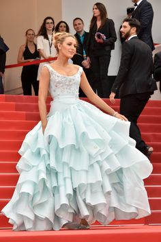 Blake Lively in Vivienne Westwood Photo by Foc Kan/FilmMagic via @AOL_Lifestyle Read more: http://www.aol.com/article/2016/05/18/blake-lively-pregnant-cannes-instagram/21379514/?a_dgi=aolshare_pinterest#fullscreen