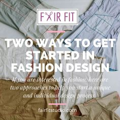 Okay, so this is the year that you are going to pursue your goals and start designing clothing, but where in the vast field of fashion do you even begin? In my private lessons, focusing on these 2 areas really help students to identify their own unique perspective, as well help them consider if fashion is really an investment they want to make. #learn #fashion #design #howto #clothing #diy #sew #clothing #sewing #learntodesignclothing #learntosew #batonrouge #classes...