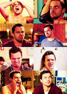 The many faces of Nick Miller just for u ladies, nick miller fan club!