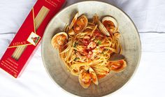 Lidia Bastianich's Vermicelli with Red Clam Sauce