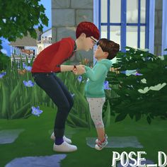 Family Pose(in-game) You'll need Andrew's pose player and Teleport Any Sim. DOWNLOAD here ※pose_Cだけ少し動きます。(only pose_C is Animation) hope you'll like it!