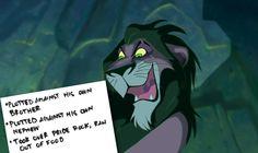 Disney Villains Scar The Lion King Evil Villains, Disney Villains, Disney Pixar, Walt Disney, Disney Characters, Lion King Meme, Kiara Lion King, Disney And More, Disney Love