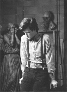 The 11th Doctor. I love this picture. It's so beautiful and sad and captures his youth and world-weariness at the same time. He really looks other-worldly here...