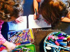 The Natural Homeschool: Homeschooling December 2013 Part 1
