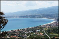 Overview of Ionian Cost, Calabria, Italy - RADA SIRI HOTEL - from Soverato Web