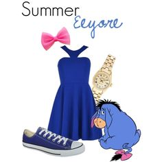 """""""Eeyore"""" by jivy44 on Polyvore"""