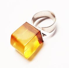 Baltic Amber Ring 135g by AmberLovers20 on Etsy