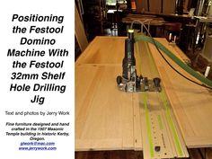 Festool Domino & Festool Hole Drilling Jig PDF
