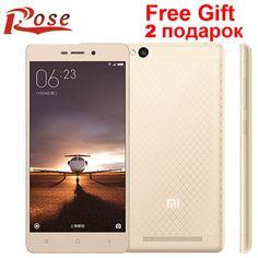 @@@best priceOriginal Xiaomi Redmi 3 2015811 version Metal Body Mobile Phone Snapdragon 616 Octa Core  FDD LTE  2G RAM 16G ROM 1280X720 13MP-in Mobile Phones from Phones