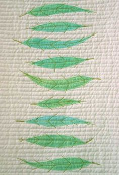 feather quilt -
