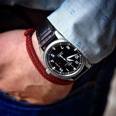 #Regram of @senmurv's #IWCwristshot with his #IWC Pilot's Watch Mark XVII.