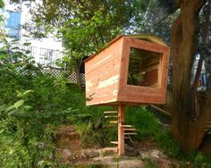 tiny chicken coop | ... .com: A VERY Funky Chicken Coop as a Tiny House? (and a tiny house