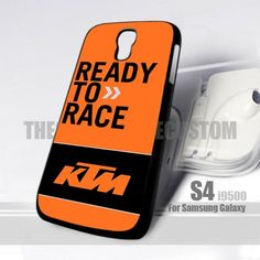 KTM Ready To Race Motorcycle Logo Samsung S4 9500