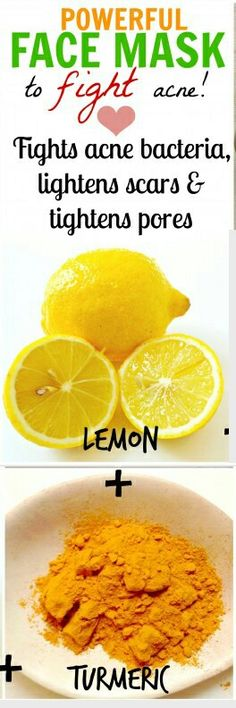 Lemon recipe 4 acne & scars
