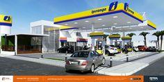 projeto de identidade visual posto de gasolina Imperatriz MA