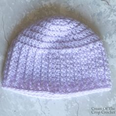 This Textured Newborn Hat is great for a baby boy (or girl) for a baby shower gift! Crochet Baby Hat Patterns, Crochet Baby Beanie, Crochet Beanie Pattern, Knit Or Crochet, Crochet For Kids, Free Crochet, Crochet Hats, Crochet Ideas, Chrochet