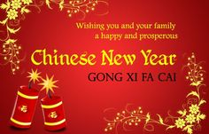Happy chinese new year greeting 2018 with well wishes happy new chinese new year gong xi fa cai tap to see more cny greetings for family m4hsunfo