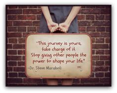 this journey is yours