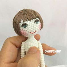 #muffinthedoll #crochetdoll #crochet #amigurumi #tiny #toy #toystagram #doll #dolls #dollstagram #handicraft #handmade #craft #cute #kawaii #ohopshop