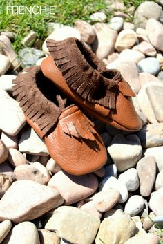 DIY Leather Moccasins made with a Cricut Explore -- Frenchie Wraps. #DesignSpaceStar Round 2