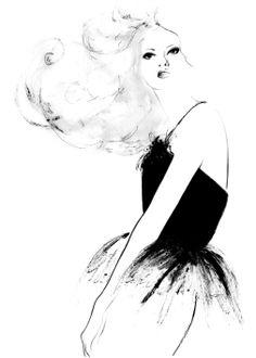 fashion illustration by Kornelia Debosz