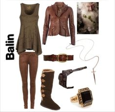 the hobbit inspired outfit ~ balin