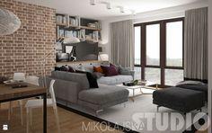 Salon styl Industrialny - zdjęcie od MIKOŁAJSKAstudio - Salon - Styl Industrialny - MIKOŁAJSKAstudio