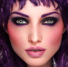 Makeup Looks | ... trousse de maquillage ! Ci-dessous, un look 100% make-up for ever
