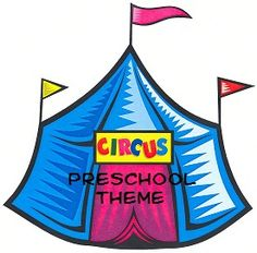 Circus and Clown Preschool Theme Ideas - crafts, activities, etc.
