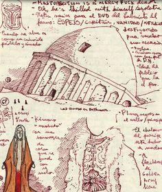 Guillermo Del Toro's notebook