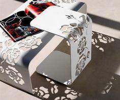 Laser-Cut-Roses-Pattern-on-Minimalist-Metal-Coffee-Table.jpg 600×503 pixels