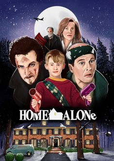 - Film Pictures - Home Alone Home Alone 1990, Home Alone Movie, Alone Art, Hipster Background, Film Pictures, Funny Iphone Wallpaper, Best Movie Posters, Alternative Movie Posters, Film Serie