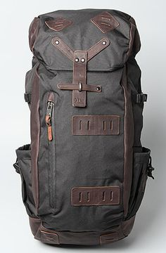 want! Vans The Washburn Backpack in Black for Men