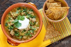 Crock Pot Turkey White Bean Pumpkin Chili Gina's Weight Watcher Recipes Servings: 9 • Serving Size: 1 cup • Points +: 6 pts • Smart Points: 4 Calories: 272.5 • Fat: 2.5 g • Protein: 32 g • Carb: 31 g • Fiber: 12 g • Sugar: 2.4 Sodium: 499 (without salt)