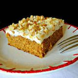 : Pumpkin-Spice Cake with Cream Cheese Frosting