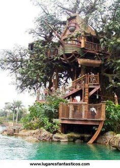 1000 images about casa en el arbol on pinterest tree - Casa en el arbol ...