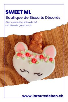 Sweet ML est un salon de thé de biscuits décorés situé à Cossonay en Suisse. #biscuits #licorne #salondethe #suisse Creations, Sweet, Decorated Sugar Cookies, Unicorn, Switzerland, Homemade, Fine Dining, Greedy People, Living Room