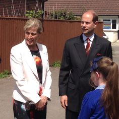 Edward and Sophie in Moorland in Somerset 9 June 2014