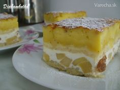 Sypaný koláč s tvarohom a jablkami (fotorecept) - recept | Varecha.sk