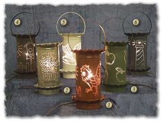 Punched Tin Melting Pots  http://www.candlenuttcandleworks.com/