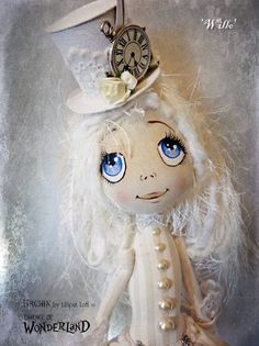 Urchin Art Doll by Vicki at Lilliput Loft ~ 'Willo'