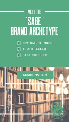 The Sage Brand Archetype Jungian Archetypes, Brand Archetypes, How The Universe Works, Business Branding, Business Tips, Brand Strategist, Brand Fonts, Art Lessons Elementary, Content Marketing
