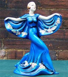 RARE Art Deco Lady Trentham Art Ware Series FF55 Figure | eBay